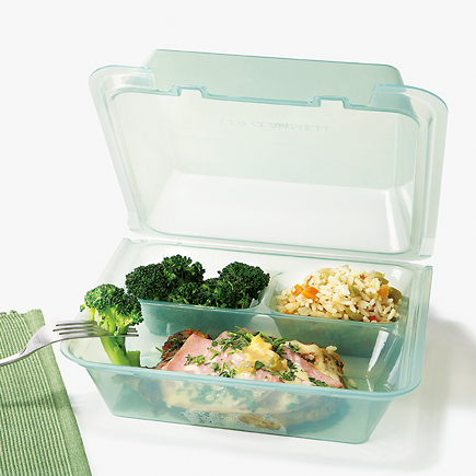 re-usable take-out containers