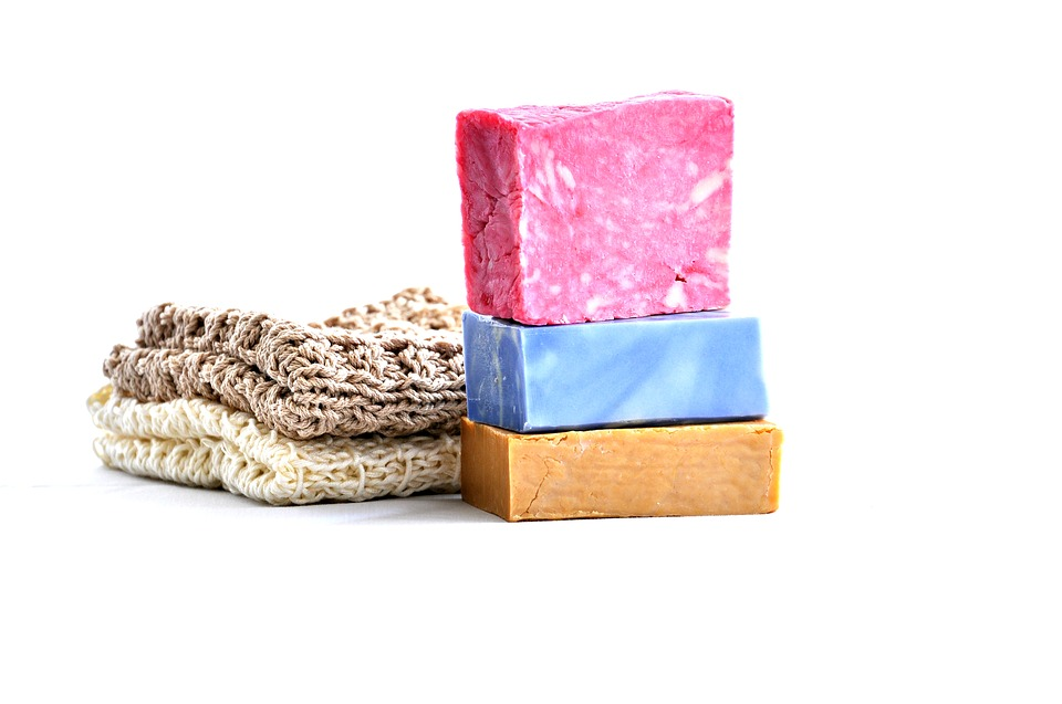 handmade and homemade soap